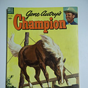 Dell Comics Gene Autry's Champion No. 13 1954