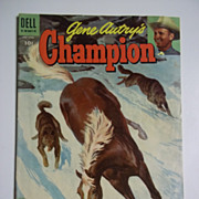 Dell Comics Gene Autry's Champion No. 17 1955