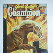 Dell Comics Gene Autry's Champion No. 9 1953