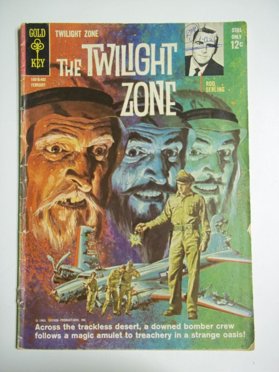 Gold Key Comics The Twilight Zone No. 6 1964