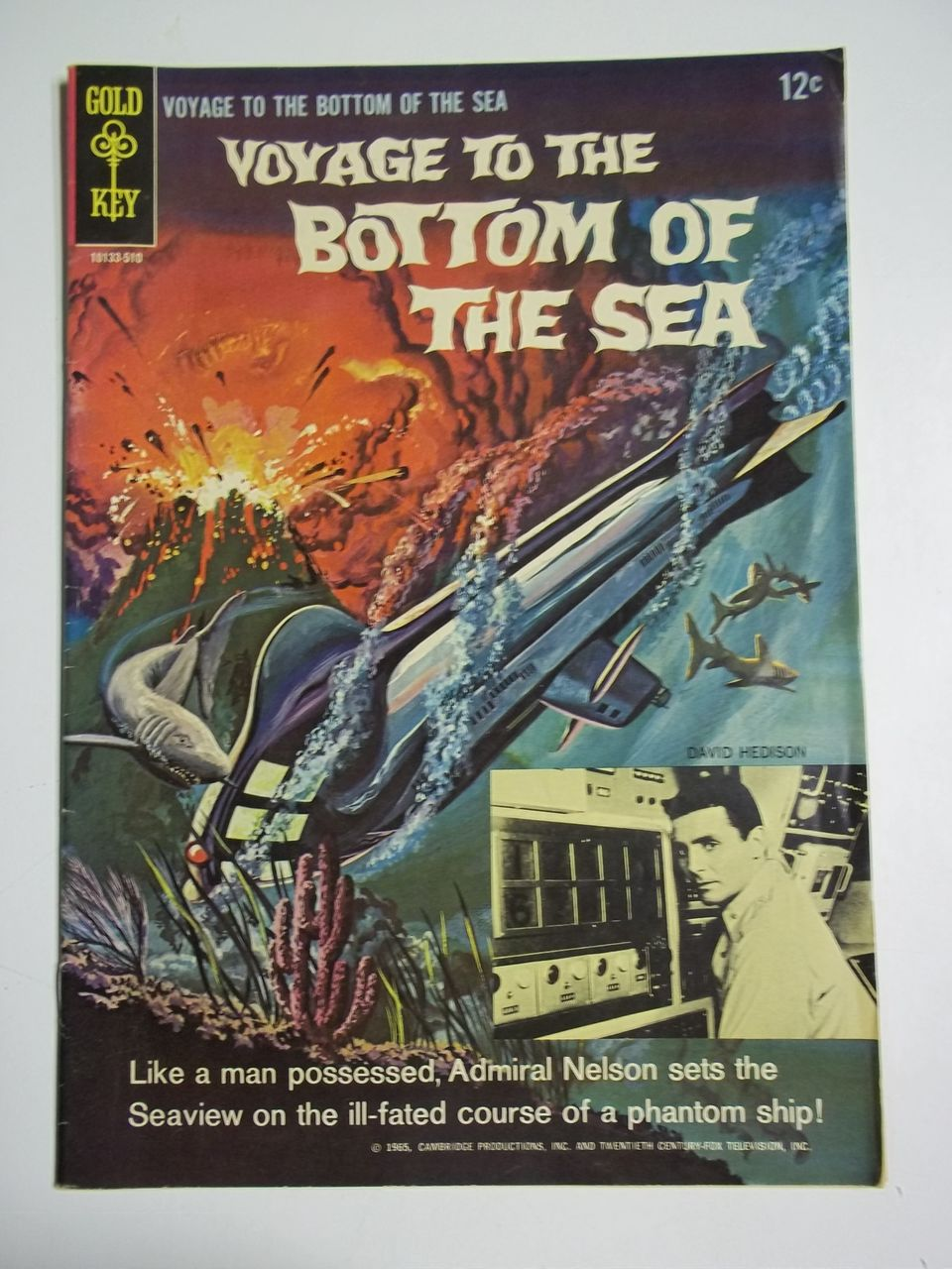 Gold Key Comics Voyage to the Bottom of the Sea No. 3 1965