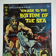 Gold Key Comics Voyage to the Bottom of the Sea No. 4 1966