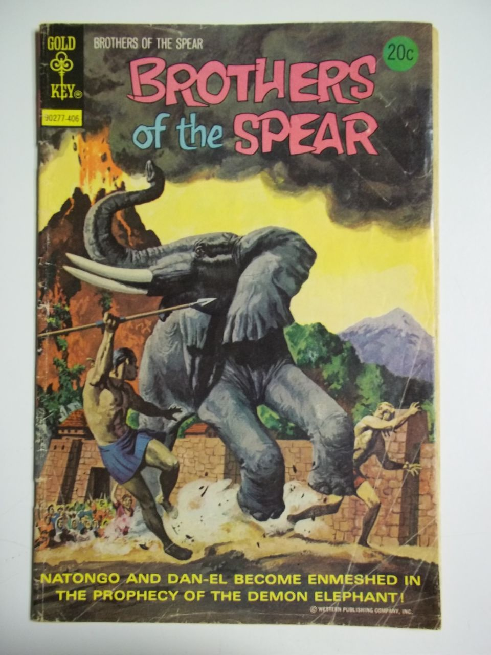 Gold Key Comics Brothers of the Spear No. 9 1974