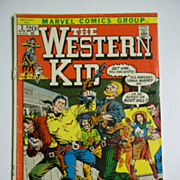 Marvel Comics The Western Kid No. 3 1972