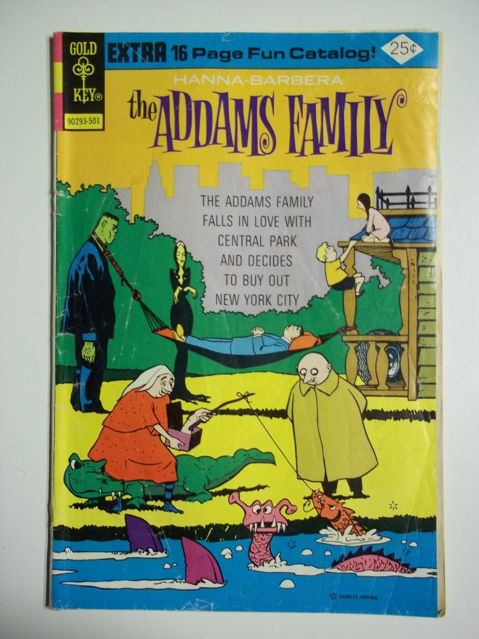 Gold Key Comics The Addams Family No. 2 1975