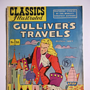 Classics Illustrated No. 16 Gulliver's Travels Early Edition