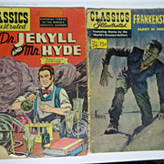 Classics Illustrated Horror 2 Pack: Frankenstein AND Dr. Jekyll and Mr. Hyde