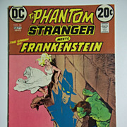 DC Comics The Phantom Stranger Meets The Spawn of Frankenstein No. 26, Vol. 5, Aug ...