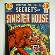 DC Comics Secrets of Sinister House No. 8, Vol. 2, Dec. 1972