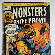 Marvel Comics Monsters on the Prowl Vol. 1, No. 20, Dec. 1972