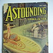 Astounding Science Fiction No. 3, Vol. 21, May 1938 Pulp Magazine