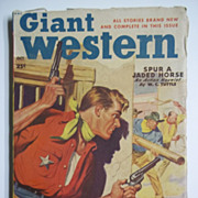 Giant Western No. 2, Vol. 4, Oct. 1949 Western Pulp Magazine