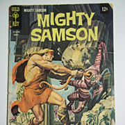 Gold Key Comics Mighty Samson No. 15, Aug. 1968
