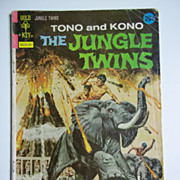 Gold Key Comics The Jungle Twins No. 6, July 1973