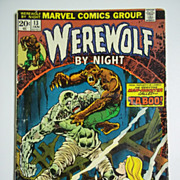Marvel Comics Werewolf By Night Vol. 1, No. 13, January 1974