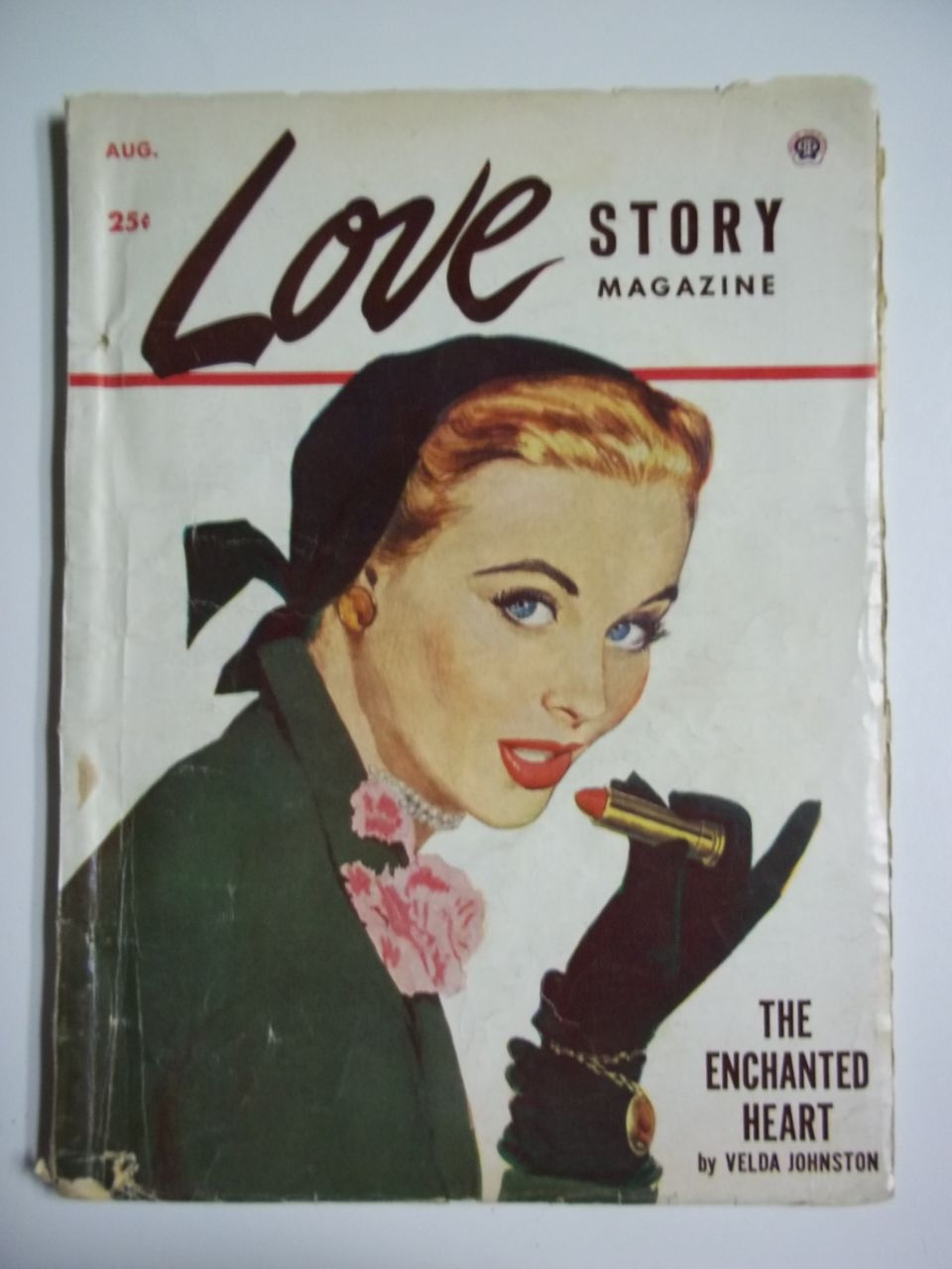 Love Story Vol. 194, No. 2, Aug. 1953 Romance Pulp
