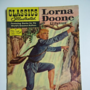Classics Illustrated No. 32, Dec. 1946: Lorna Doone