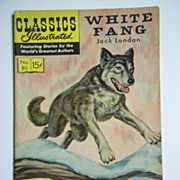 Classics Illustrated No. 80, Feb. 1951: White Fang