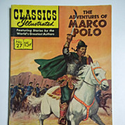 Classics Illustrated No. 27, Jan. 1946: The Adventures of Marco Polo