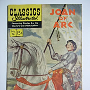 Classics Illustrated No. 78, Dec. 1950: Joan of Arc