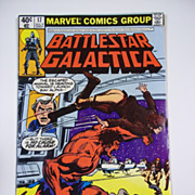 Marvel Comics Battlestar Gallactica No. 17, Vol. 1, July 1980