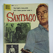Dell Comics Santiago No. 723 1956