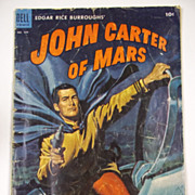 RARE! Dell Comics John Carter of Mars No. 488, 1953