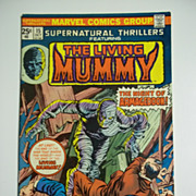 Marvel Comics The Living Mummy No. 15, Oct. 1975