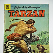 Dell Comics Tarzan No. 71, Vol. 1, Aug. 1955
