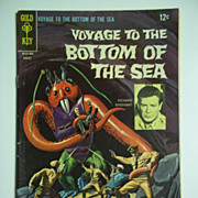 Gold Key Comics Voyage to the Bottom of the Sea No. 13, Aug. 1968