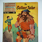 Classics Illustrated Junior No. 523, Feb. 1956: The Gallant Tailor