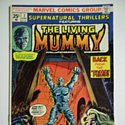 Marvel Comics The Living Mummy No. 7, Vol. 1, June 1974