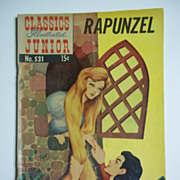Classics Illustrated Junior No. 531, Oct. 1956: Rapunzel