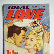 Ideal Love No. 4, Vol. 18, Nov. 1957 Romance Pulp