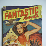 Fantastic Novels Magazine No. 2, Vol. 3, July 1949 Sci-Fi Pulp