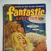 Fantastic Adventures No. 11, Vol. 14, Nov. 1952 Science Fiction Pulp
