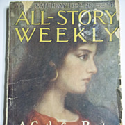RARE! All Story Weekly No. 1, Vol. CV, Dec. 1919