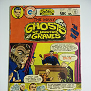 Charlton Comics The Many Ghosts of Doctor Graves No. 68, Vol. 11, Sept. 1981