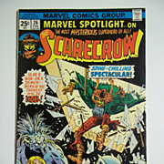 Marvel Comics Marvel Spotlight on The Scarecrow, No. 26, Vol. 1, Feb. 1976