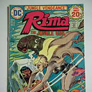 DC Comics Rima the Jungle Girl Vol. 1, No. 5, Dec.-Jan. 1974