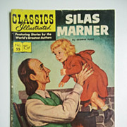Classics Illustrated Comic No. 55, Jan. 1949: Silas Marner