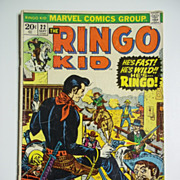 Marvel Comics The Ringo Kid No. 22, Sept. 1973