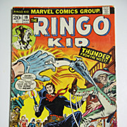 Marvel Comics The Ringo Kid No. 19, Vol. 1, March 1973