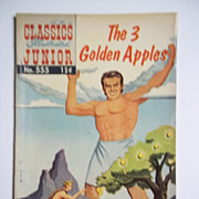 Classics Illustrated Junior No. 555, Oct. 1958: The 3 Golden Apples