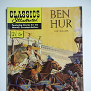 1st Edition! Classics Illustrated Junior No. 147, Nov. 1958: Ben Hur HRN 147