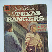 Dell Comics Jace Pearson's Tales of the Texas Rangers No. 20 1958