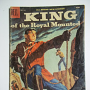 Dell King of the Royal Mounted No. 935 1958