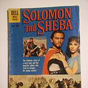 Dell Comics Movie Classics Solomon and Sheba 4 Color Comic No. 1070 1959