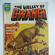 Dell Comics Movie Classics The Valley of Gwangi 1969