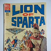 Dell Comics Movie Classics Lion of Sparta 1962